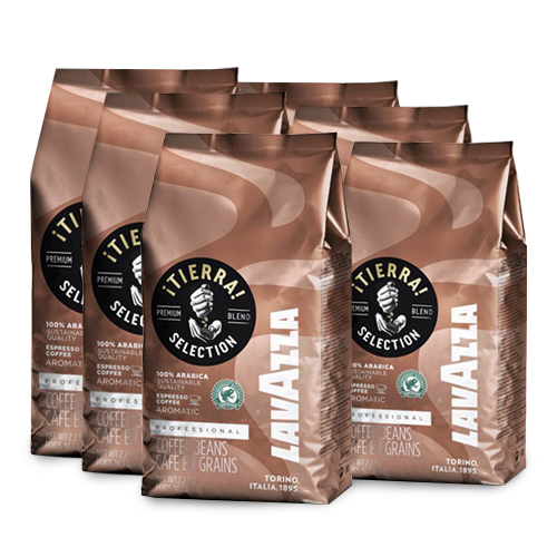 Lavazza Tierra Selection 6 zakken