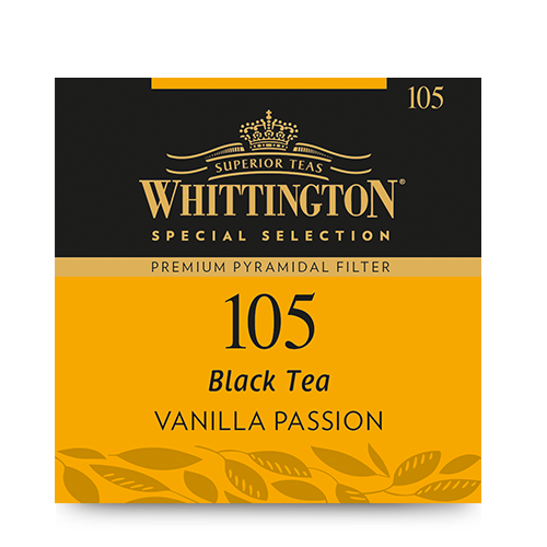 Whittington Pyramid Black Tea Vanilla Passion