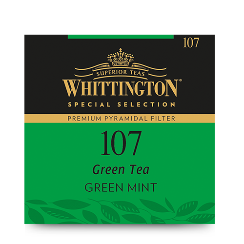 Whittington Pyramid Green Tea Green Mint