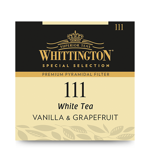 Whittington Pyramid White Tea Vanilla & Grapefruit