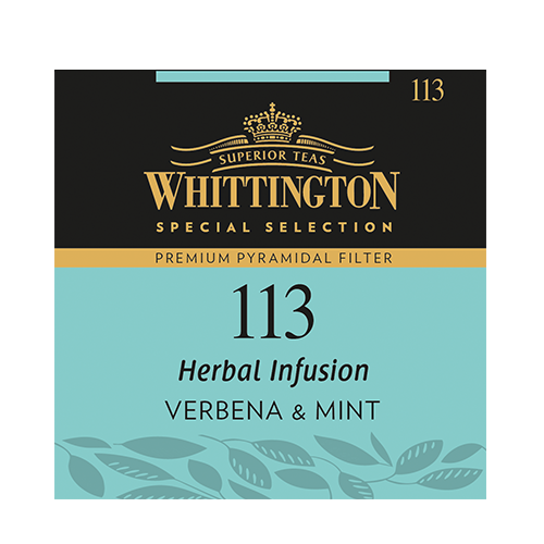 Whittington Pyramid Herbal Tea Verbena Mint