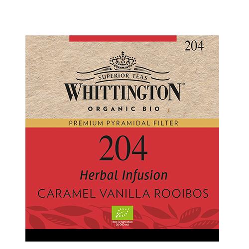 Whitt Pyramid Bio Caramel Vanilla Rooibos