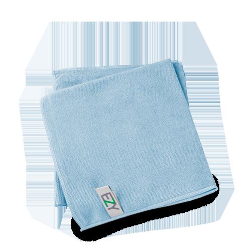 Ezy Microvezeldoek Blauw 40x40