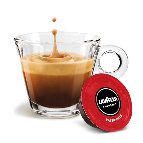 A Modo Mio Minù Caffe Latte Red