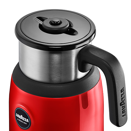 A Modo Mio Frother Hot/Cold Red