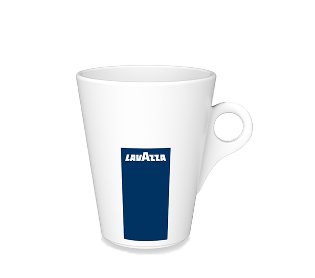 Lavazza BLUE Classy Compact incl. 125 cups, 6 mokken & capsulehouder
