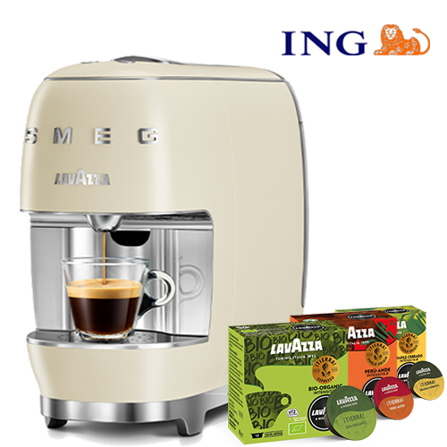 ING Deal Smeg Crème+ 60 cups