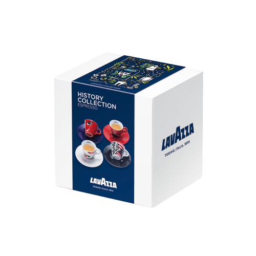 Lavazza History Collection 4 stuks