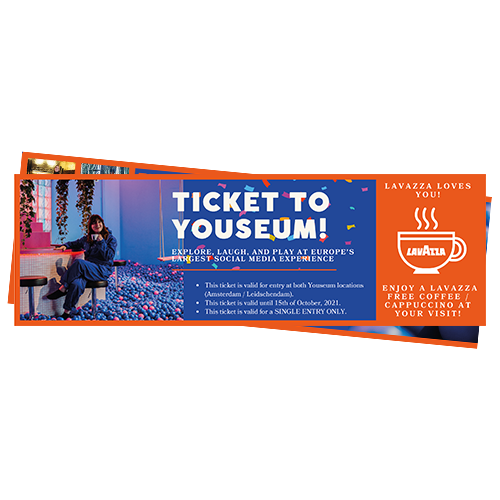 Youseum tickets t.w.v. 39,99 euro