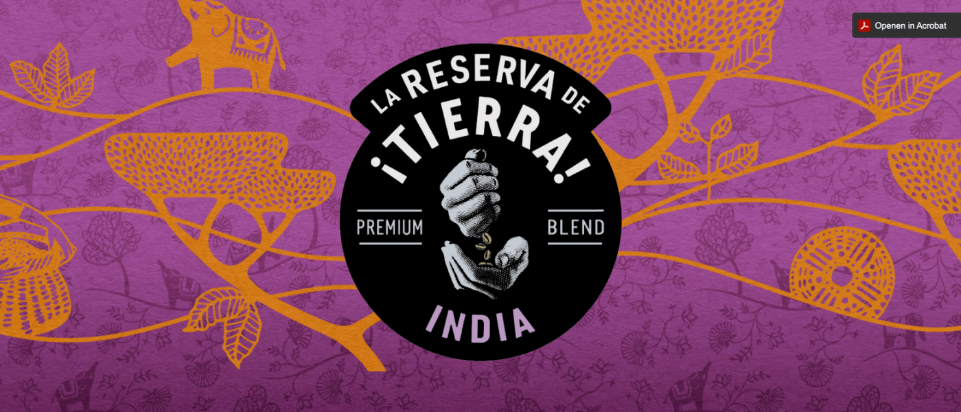 Nieuw in assortiment: La Reserva de ¡Tierra! India